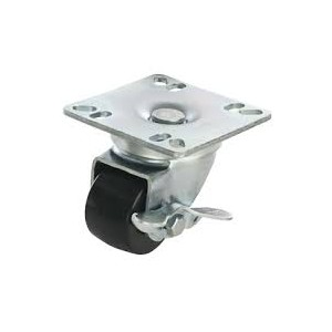"""2"""" UNIVERSAL PLATE CASTERS W/BRKS"""