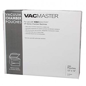 Vacmaster Chamber Vac Pouches 4-MIL 8x12 (1000/box)