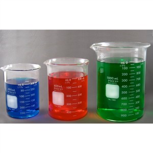 PYREX Glass Beaker Set - 400mL, 600mL, 1000mL