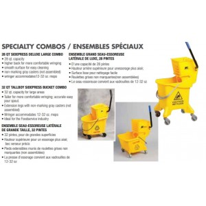 26qt SidePress Combo - Yellow Pack of 1       Price Per    EA