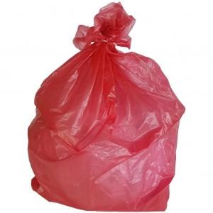 Garbage Bags Red 33X39 1.5mil 33 gal. 250/CS 33lbs.