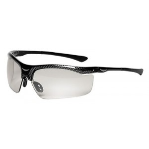 3M™ Smart Lens™ Safety Glasses Photochromatic Lens, Black Frame