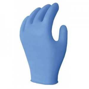 NE2, 4 Mil, Blue Nitrile Examination Gloves, Powder Free, 100/box, 1000/case