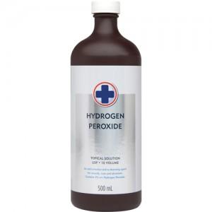 Hydrogen Peroxide 3% USP - 500 mL