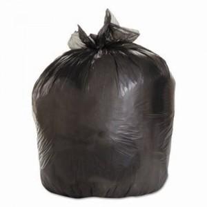 BOARDWALK GARBAGE BAGS BLACK 35 X 50 STRONG CASE 125