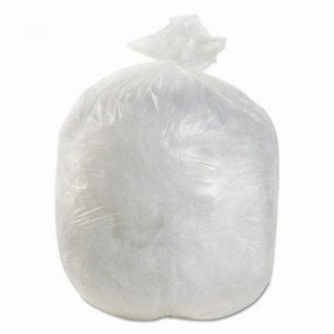 BOARDWALK GARBAGE BAGS CLEAR 35 X 50 STRONG CASE 125
