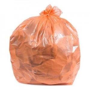 BOARDWALK GARBAGE BAGS 35X50 3 MIL   ORANGE 30 BAGS per RL 40 RL  per CS