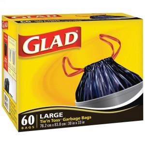 GLAD TIE'N TOSS 4 60CTX4