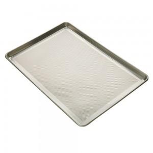 Half Size Sheet Pan, 18 Gauge Aluminum, Perforated, 13 x 18 in