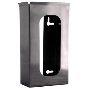"""304 Stainless Steel Glove Dispenser, Single 10.36"""" X 5.25"""" I.D. X 3"""" I.D."""