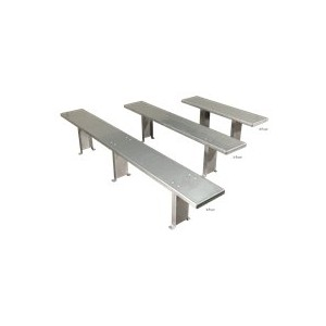 """Stainless Steel Bench 48""""Lx12""""Wx18""""H"""