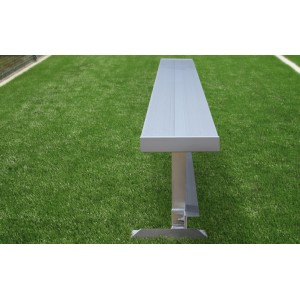 Team Series Aluminum Player Benches | 8' Length