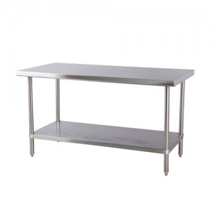 "Stainless Steel Tables, 30"" x 30"" x 35"""