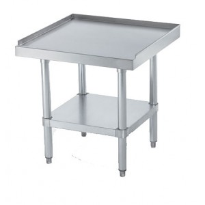 "Stainless Steel Equipment Stand, 30"" x 12"" 24"" 430SS"