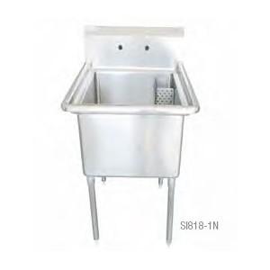 "Sink, 18"" x 18"" L/R Direction, 44.5"" Width"