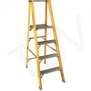 Step Ladder 10' Platform Heavy Duty Fibreglass 300lbs Cap.