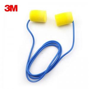 3M TM E-A-R TM Classic TM Foam Earplugs, Corded, NRR dB: 29 Qty/Box(pairs): 200
