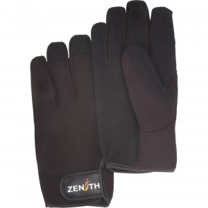 ZM100 Mechanic Gloves , Synthetic Leather