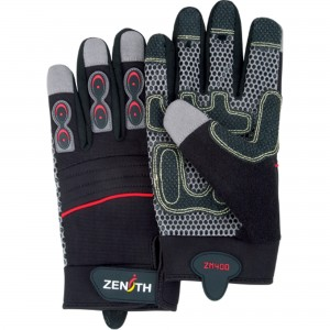 ZM400 Premium Mechanic Gloves, Synthetic