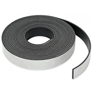 "Magnetic Tape Strips - 8.5X11"", Adhesive, 0.03"" thickness 25/Pkg"