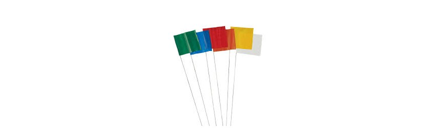 PVC Marking Flags