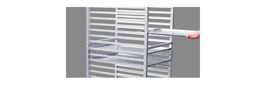 Aluminum Bun Pan Racks - Dry Cannabis