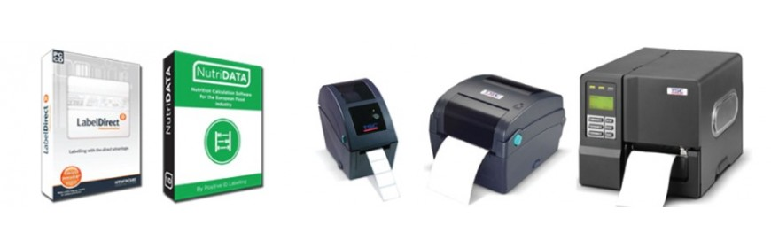 Computers, Barcode Labels & Printers