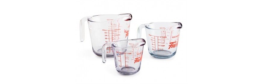 Measuring Cups and Graduated Cylinders
